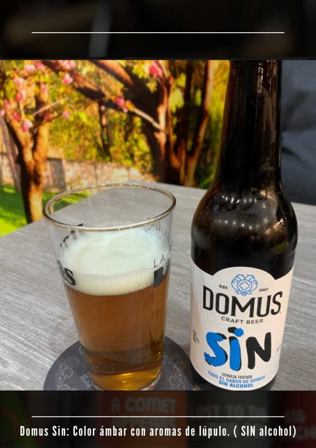 cerveza artesanal sin alcohol