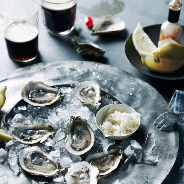 porter y ostras maridaje